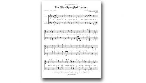 The Star Spangled Banner TTBB cover image